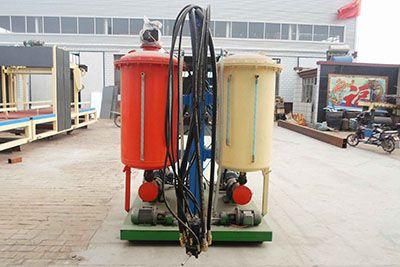 管道保温聚氨酯高压发泡机
