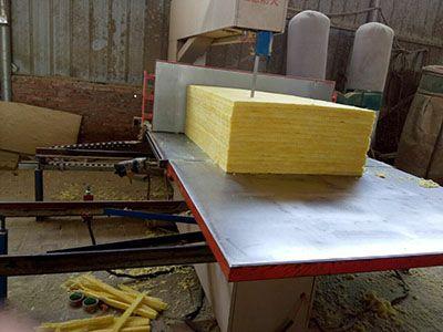 高性能岩棉条切割机